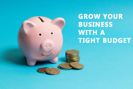 Grow Your Business Online with A Tight Budget
